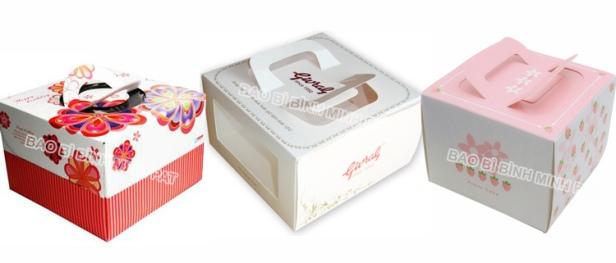 In hộp bánh Kem, hộp bánh Sinh Nhật đẹp giá rẻ tại HCM - hinh 2