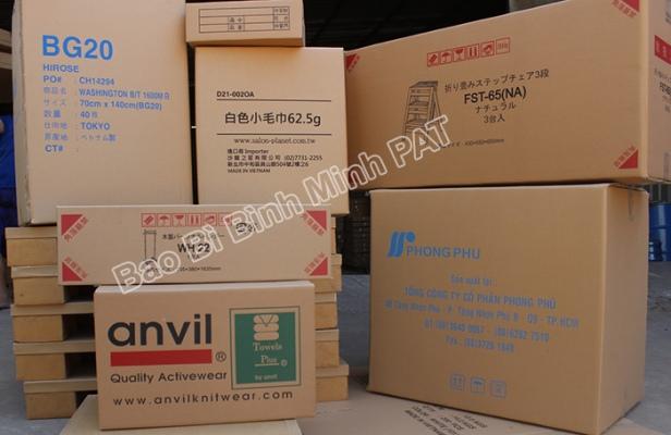 Sản xuất thùng carton 5 lớp in Flexo